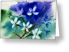 Violets 2 Greeting Card