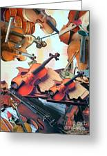 Violin Concierto Greeting Card