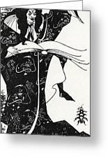 Virgilius The Sorcerer Greeting Card