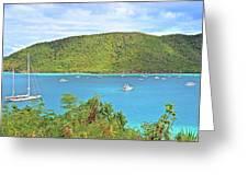Virgin Island Getaway Greeting Card