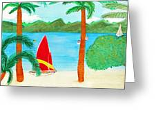 Virgin Island Memories Greeting Card