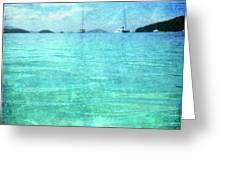 Virgin Islands Blues Greeting Card