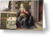 Virgin Mary, From The Annunciation Greeting Card