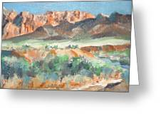 Virgin River Gorge Greeting Card