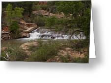 Virgin River Hike - 2  Greeting Card