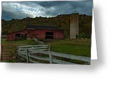 Virginia Barn Greeting Card