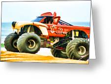 Virginia Beach Monster Truck Rally Greeting Card