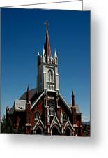 Virginia City Church St Mary Greeting Card