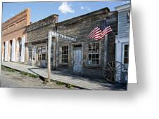 Virginia City Ghost Town - Montana Greeting Card by Daniel Hagerman