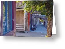 Bob's Place Virginia City Montana Greeting Card