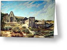 Virginia City Nevada II Greeting Card by Evelyne Boynton Grierson
