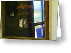 Virginia Dale Burn Relics Greeting Card
