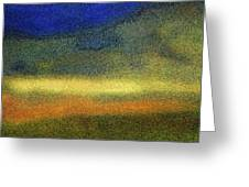 Virginia Dale-impressionistic Landscape Greeting Card