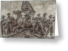 Virginia Monument Gettysburg Battlefield Greeting Card