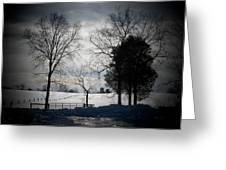 Virginia Snow Greeting Card by Joyce Kimble Smith