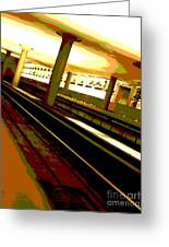 Virginia Square Metro I Greeting Card