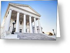 Virginia State Capitol Greeting Card