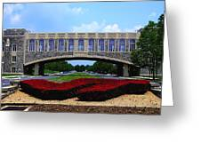 Virginia Tech - Torgersen Bridge Greeting Card
