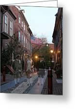 Virginians In Philadelphia Greeting Card