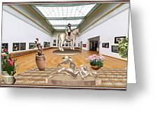 Virtual Exhibition - Girs 31 Greeting Card