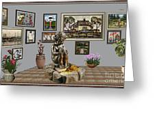 Virtual Exhibition - Source 34 Greeting Card