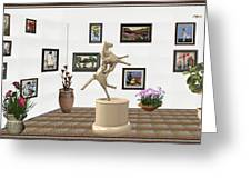 Virtual Exhibition_statue Of A Horse Greeting Card