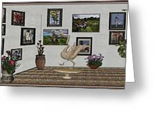 virtual exhibition_Statue of swan 23 Greeting Card