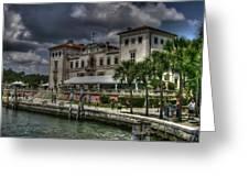 Viscaya Mansion Greeting Card