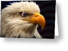 Vision Of Freedom II Greeting Card