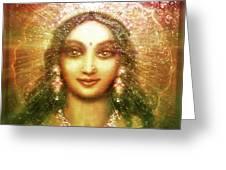 Vision Of The Goddess  Greeting Card