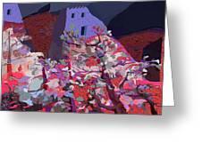 Vision Of The Ruins Greeting Card