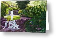 Visions Of Paradise X Greeting Card