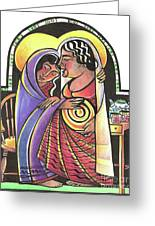 Visitation - Kitchen - Mmvsk Greeting Card