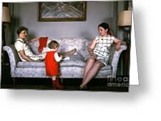 Visiting Mildred Greeting Card