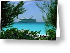 Visiting Paradise Greeting Card