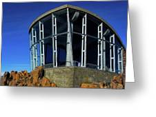Visitor Center Atop Mt. Wellington Greeting Card