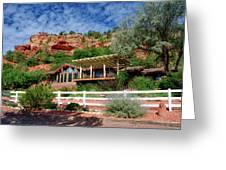 Visitor Center Best Friends Animal Sanctuary Angel Canyon Knob Utah 02 Greeting Card