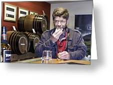 Visitor Samples Single Malt Whisky Greeting Card