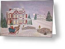 Visitors - Christmas Eve Greeting Card