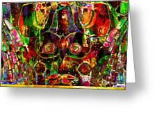 Visual Art Greeting Card