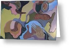 Visual Jazz #23 Greeting Card