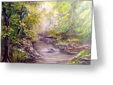 Vitsa River Greeting Card