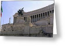 Vittorio Emanuele II Monument Greeting Card