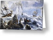 Vitus Jonassen Bering Greeting Card