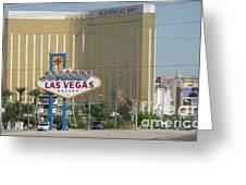 Viva Las Vegas Greeting Card