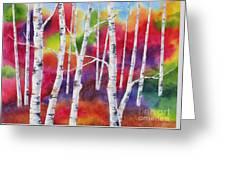 Vivid Autumn Greeting Card