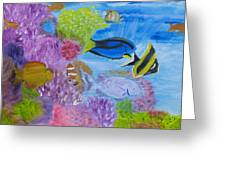 Corals Calling  Greeting Card