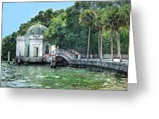 Vizcaya Bridge Greeting Card