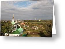 Vladimir City Greeting Card