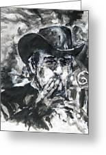 Vladimir Staer, Portrait Greeting Card